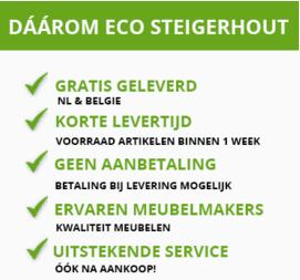 Ecosteigerhout - Steigerhout