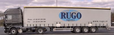 Rugo - Containertransporten